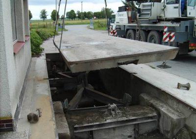 Zapuštěné silniční váhy PROFI-B